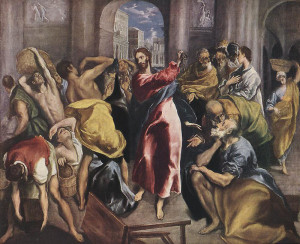 jesus and the money lenders picture